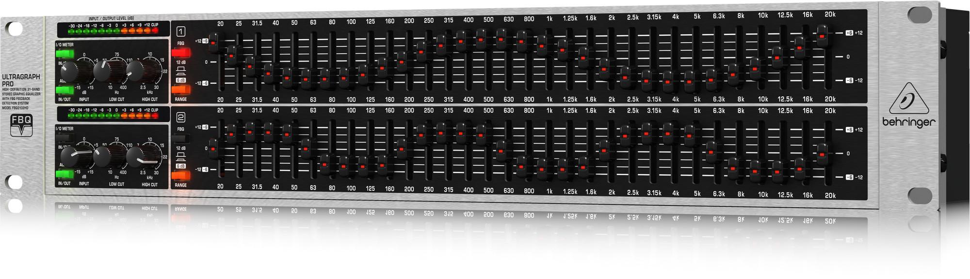 Behringer FBQ3102HD - korektor graficzny