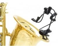 Countryman I2CS10XLR-SKIT mikrofon miniaturowy do instrumentów dentych saksofon i trąbka w zestawie uchwyt charakterystyka kardioidalna złącze XLR