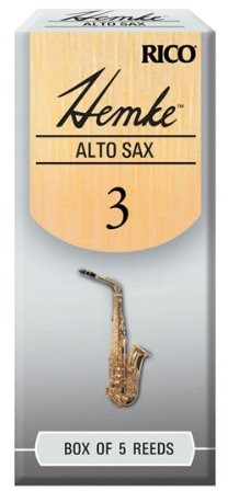 D'Addario Frederick L. hemke kartki na saksofon altowy (5sztuki) RHKP5ASX300