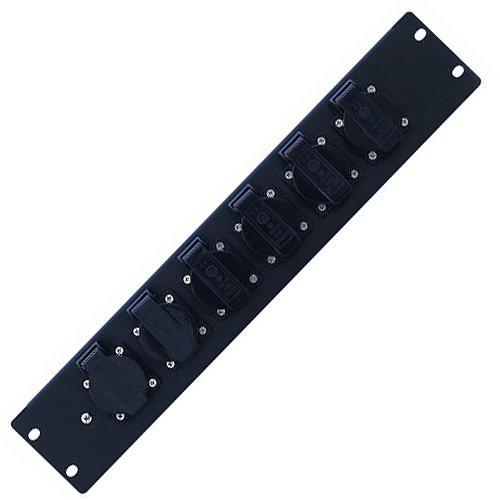 Eurolite 30248800PDM 2U do montażu w szafie-6S dystrybucji zasilania (16A) 30248800