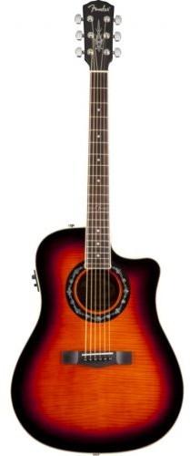 Fender T-BUCKET-300CE FLAME MAPLE 3TS Wyprzedaż