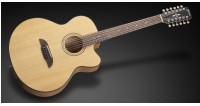 Framus FJ 14 SMV Vintage Transparent Satin Natural Tinted + EQ 12-string) gitara elektroakustyczna