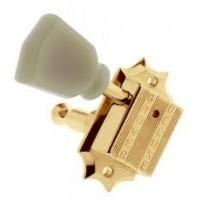 Grover Vintage Deluxe 135G klucze gitarowe 3+3 złote