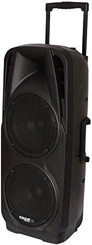 Ibiza Mobile System nagłaśniający 600Watt głośniki mikrofon pilot zdalnego sterowania Bluetooth port225vhf-BT PORT225VHF-BT