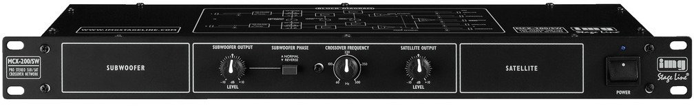 IMG STAGE LINE MCX-200/SW - crossover