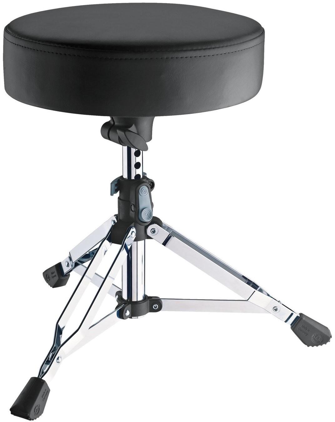Konig & Meyer 14010 Drummer Throne Piccolino Chrome