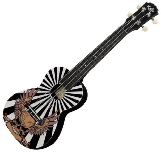 Korala PUC-30-003 UnionJackWithSkull - ukulele sopranowe