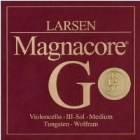 Larsen 639447) Magnacore struna do wiolonczeli G Medium 4/4