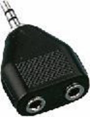 Monacor Y-Adapter 3,5/3,5Stereo 06.1120