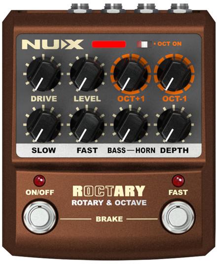 NUX ROCTARY - efekt gitarowy