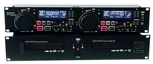 Omnitronic CMP-2000Dual-odtwarzacz płyt CD/MP3 10602409