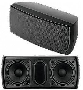 Omnitronic OD-22T Wall speaker 100V black, głośnik ścienny 100V 11036908