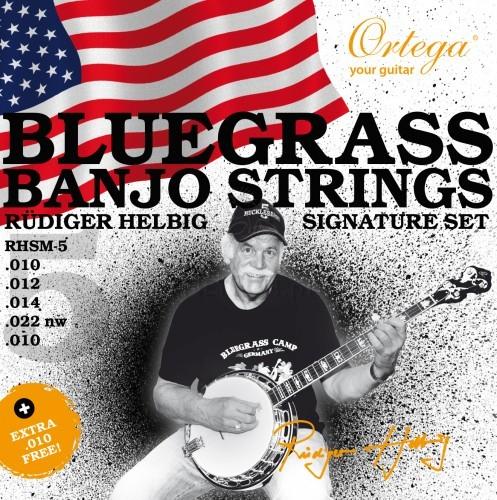 ORTEGA RHSM-5 Struny do banjo 98A4-98372