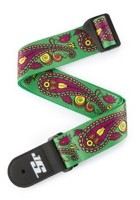 Planet Waves 50JS13 J.Satriani Paisley Green pasek gitarowy