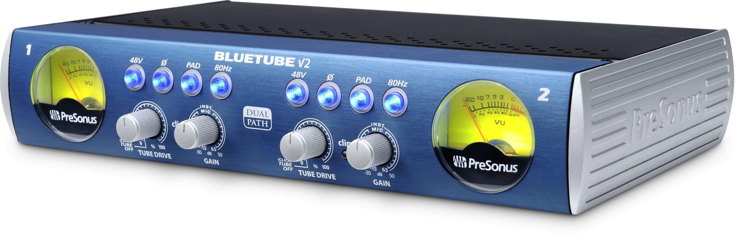 PreSonus BlueTube DP V2 - 2-kanałowy przedwzmacniacz mikrofonowy