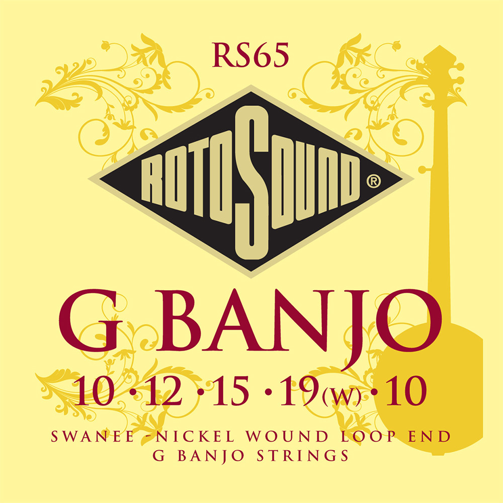 Rotosound RS65 - struny do 5-str. banjo