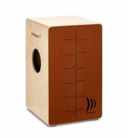 Schlagwerk Percussion CP-544 Agile Dual Red Cajon instrument perkusyjny