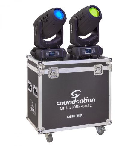 SoundSation Soundsation MHL-280BS SET POINTE zestaw 2 ruchome głowy