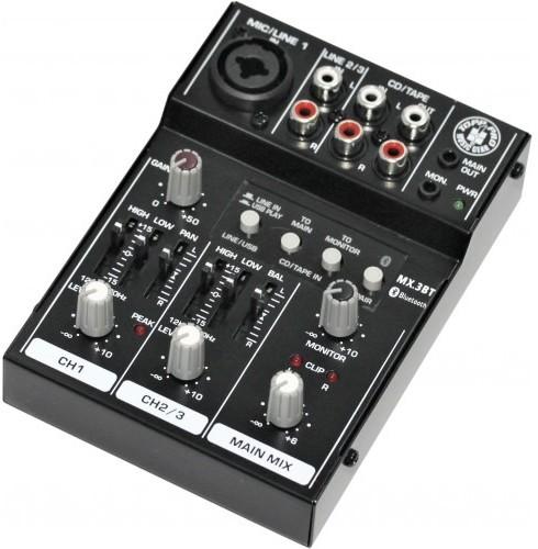 Topp Pro Topp Pro TP MX3BT - mikser analogowy