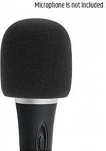 Adam Hall Adam Hall D 913 BLK - Osłona przeciwwietrzna do mikrofonu, czarna SD913BLK