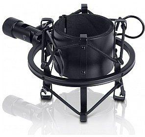 Adam Hall Adam Hall DSM 45 B - Uchwyt mikrofonowy typu pająk, 45 x 49 mm, czarny SDSM45B