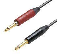Adam Hall Cables K5 IPP 0600 SP Kabel instrumentalny Neutrik silentPLUG jack mono 6,3 mm jack mono 6,3 mm 6 m