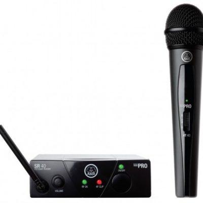 AKG WMS-40 MINI Vocal Set US25A - Zestaw bezprzewodowy (537,500MHz) 10803