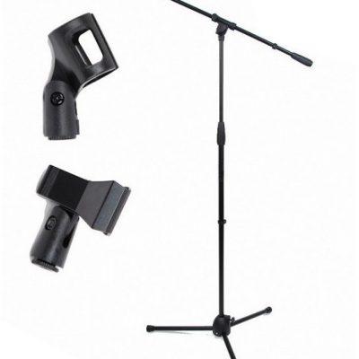 Akmuz M-1 - statyw mikrofonowy z 2 uchwytami