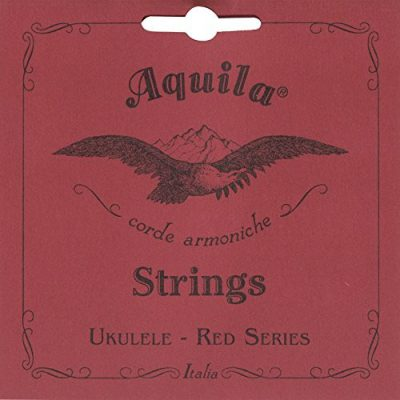 Aquila Struna  70U sopranowy-Ukulele G, Super Nylgut, Low G, Red Series 70U
