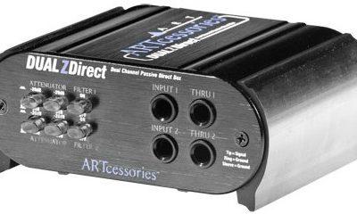 Art Dual zDirect - Podwójny, pasywny DI-Box 46512