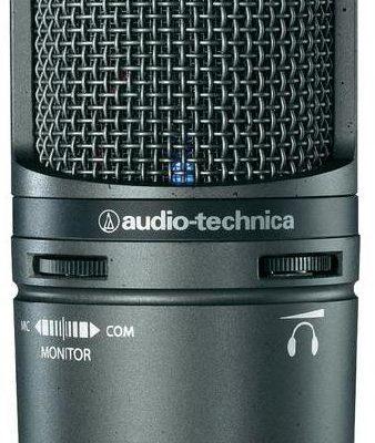 Audio Technica Mikrofon studyjny USB AT2020USB+ Komunikacja