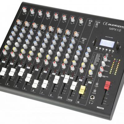 Audiophony MPX12 - mikser 12 kanałowy z USB / SD / Bluetooth - NEGOCJUJ CENĘ TEL 32 729 97 17