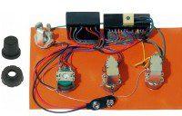 Bartolini Bartolini HR-2.4AP/918 Pre-Wired Active/Passive Preamp 3-Band EQ