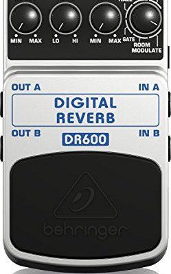 Behringer Digital Reverb dr600Reverb efekt pedałów DR600