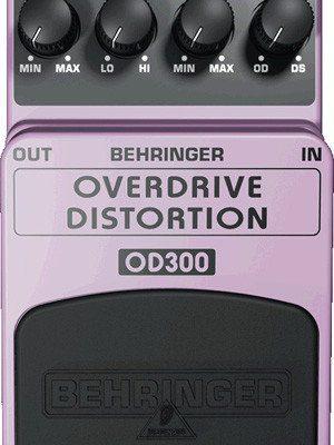 Behringer distortion/overdrive OD300 - efekt gitarowy