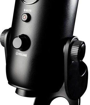 Blue Mikrofon USB Microphones YETI BLACKOUT Komunikacja podstawka 2070