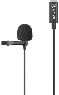 BOYA BOYA BY-M3-OP - Uniwersalny podwójny mikrofon krawatowy dla urządzeń ze złączem USB-C (ANDROID)