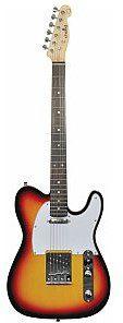 Chord CAL62 Guitar 3 Tone sunburst, gitara elektryczna 174.370UK