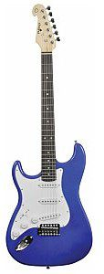 Chord CAL63/LH Guitar Metal Blue, gitara elektryczna leworęczna 174.364UK