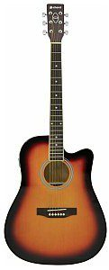 Chord Gitara elektroakustyczna Chord CW26CE-SB electro western guitar - sunburst 175.262UK