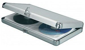Citronic Aluminium CD wallet, 40 CDs 127.052UK