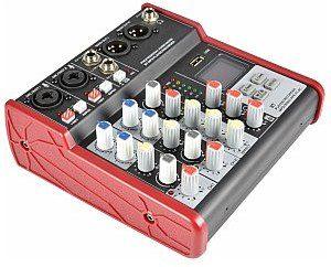 Citronic CSM-4 Mixer muzyczny 2CH USB / Bluetooth Player 170.871UK