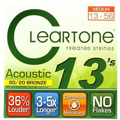 Cleartone 7613 80/20 Brąz zestaw strun akustycznych, średni CL7613
