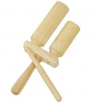 Club Salsa F835280 agogo drewniane, instrument perkusyjny
