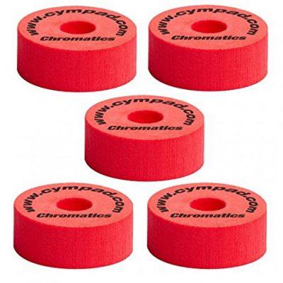 Cympad cympad 40/15mm Chromatics zestaw na basen, 5sztuka, czerwony CYCS15/5R