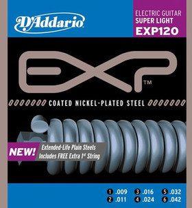 DAddario EXP120 struny do gitary elektr 9-42 DADEXP120SG942