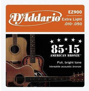DAddario EZ 900 struny do gitary akustyczn 10-50 DADEZ900SGA1050