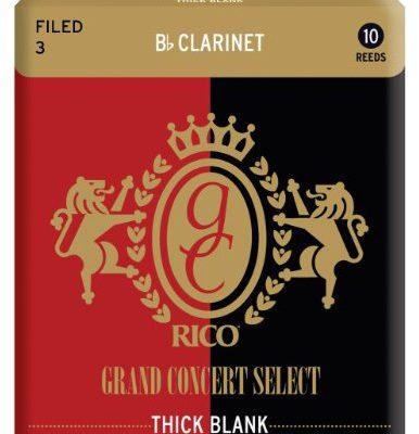 D'Addario Grand Concert Select Thick Blank liście do BB klarnet (10sztuk) RGT10BCL300