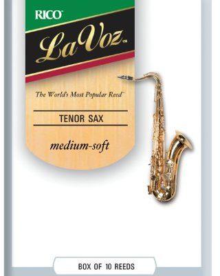 D'Addario La voz liście zapewnia saksofonu grubość Soft RKC10MS
