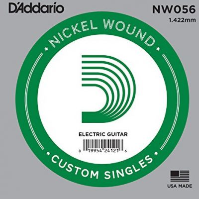 D'Addario Nickel Wound ball End Single Strings NW056